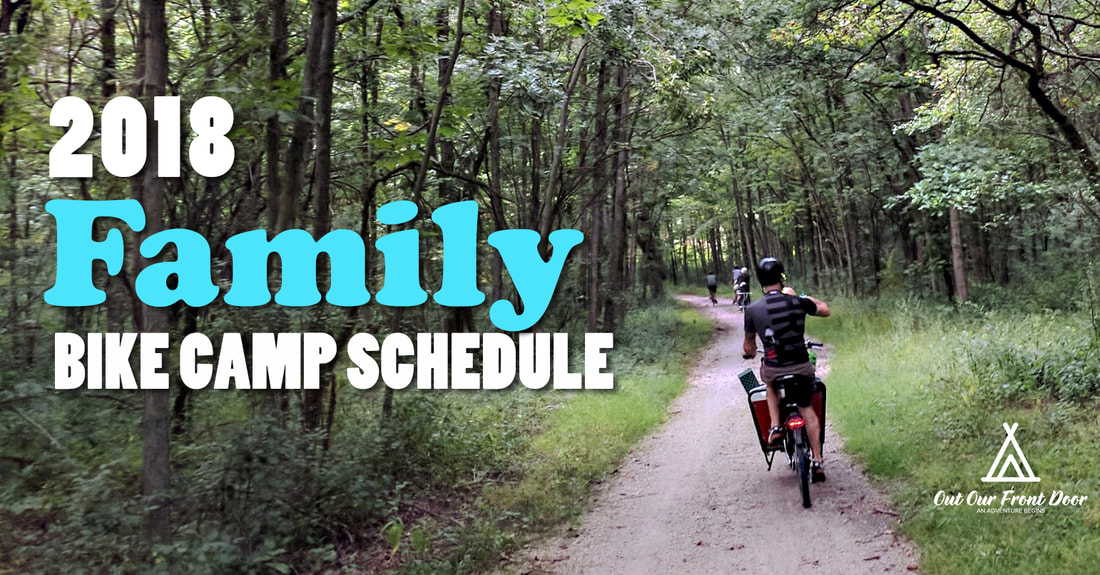 Chicago Bike Camping trips and tours