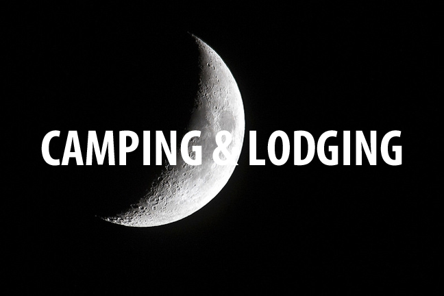 Camping, hotels, and Cabins, Lodging options for Chicago Bike overnights and weekend adventures.