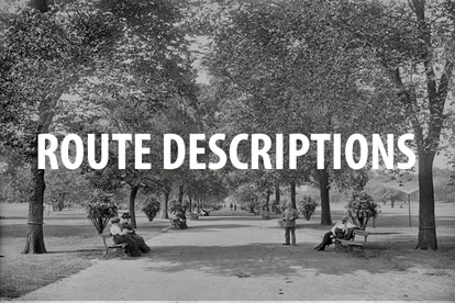 Chicago bicycle Route Descriptions